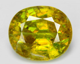 1.50 CT SPHENE WITH DRAMATIC FIRE AFGHANISTAN SH7