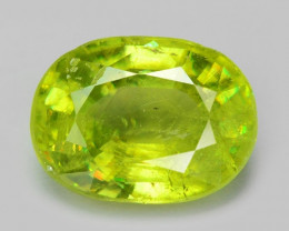 1.01 CT SPHENE WITH DRAMATIC FIRE AFGHANISTAN SH8