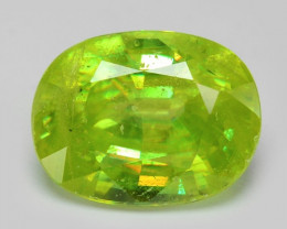1.38 CT SPHENE WITH DRAMATIC FIRE AFGHANISTAN SH9