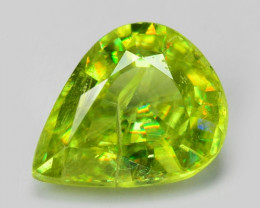 1.28 CT SPHENE WITH DRAMATIC FIRE AFGHANISTAN SH10