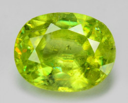 1.07 CT SPHENE WITH DRAMATIC FIRE AFGHANISTAN SH13