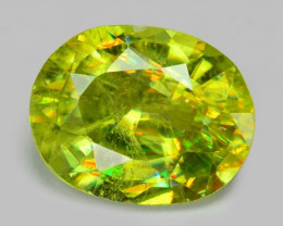 0.73 CT SPHENE WITH DRAMATIC FIRE AFGHANISTAN SH16