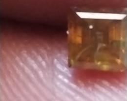 NATURAL -BROWNISH RED DIAMOND-0.50CTWSIZE-1PCS