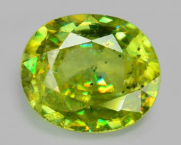 0.65 CT SPHENE WITH DRAMATIC FIRE AFGHANISTAN SH33