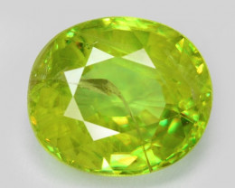 1.18 CT SPHENE WITH DRAMATIC FIRE AFGHANISTAN SH35