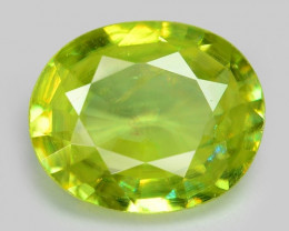 0.89 CT SPHENE WITH DRAMATIC FIRE AFGHANISTAN SH36