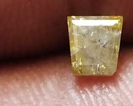 NATURAL-YELLOW-WHITE DIAMOND-0.50CTW-1PCS