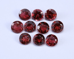 5.9tcw Natural 5mm Round Garnet Parcel (10pcs.)