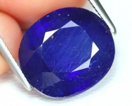 Blue Sapphire 9.15Ct Oval Cut Royal Blue Color Sapphire B463