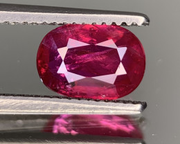 IGA Certified 1.17 Carats Natural Ruby Gemstone