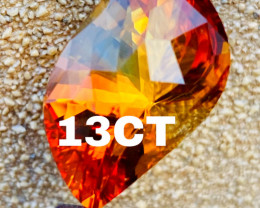 13 CT-BEST QUALITY MADEIRA CITRIN -3 COLOR!!