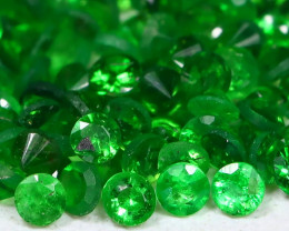 Tsavorite 1.61Ct Calibrate 1.3mm Natural Green Color Tsavorite Garnet B595