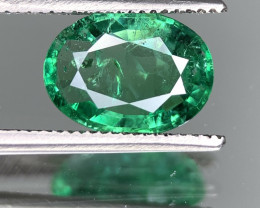 AIG  Certified 1.78 Carats  Natural Emerald Gemstone