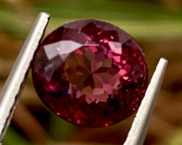 2.01 ct Red Tourmaline  With Fine Cutting Gemstone
