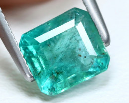 Zambian Emerald 1.23Ct Natural Green Color Zambian Emerald B634