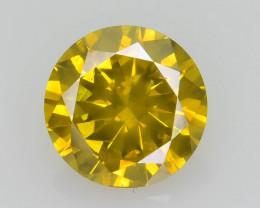 Yellow Diamond 1.00 ct Top Grade Brilliance SKU-25