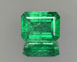 AIG Certified  2.78 Carats  Natural Emerald Gemstone