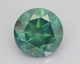 Green Diamond 1.64 ct Top Grade Brilliance SKU-25