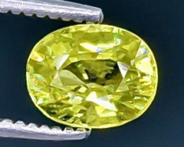 1.02 Crt  Sphene Faceted Gemstone (Rk-15)