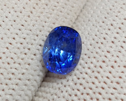 UNHEATED CERTIFIED 1.69 CTS NATURAL BEAUTIFUL ROYAL BLUE SAPPHIRE CEYLON SR