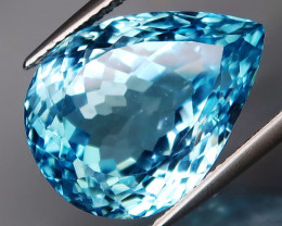 19.10 ct. 100% Natural Earth Mined Top Quality Blue Topaz Brazil