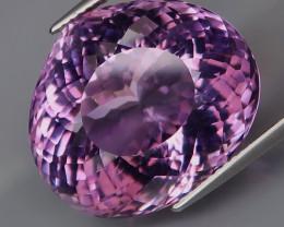 30.67 ct 100% Natural Earth Mined Unheated Purple Amethyst, Uruguay