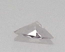 0.03 ct Poudretteite - Ultra Rare! Certified!