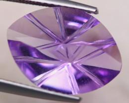 5.34ct Natural Purple Amethyst Fancy Cut Lot D470
