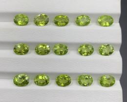 20.37 CT Peridot Gemstones Parcel
