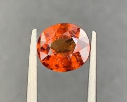 1.82 CT Spessartite Garnet Gemstone