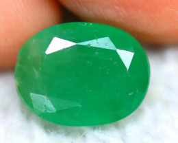 Emerald 3.37Ct Natural Zambia Green Emerald D1711/A37
