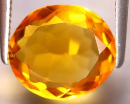 Citrine 3.26Ct Natural VVS Golden Yellow Color Citrine DF1719/A2