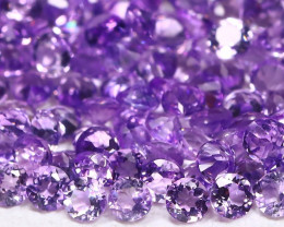 Amethyst 2.69Ct Calibrate 1.5mm Round Natural Purple Amethyst AB757