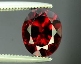 Top Grade 2.10  ct Fancy Cut Red Garnet