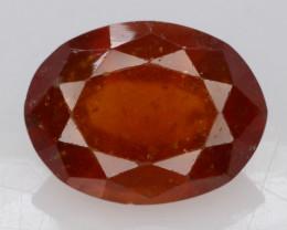 Top Color 3.90 ct Natural Hessonite Garnet