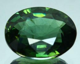 2.10 Cts Natural Corundum Green Sapphire Sri Lanka Heated Gem