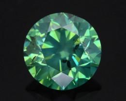 Green Diamond 1.36 ct Top Grade Brilliance SKU-25