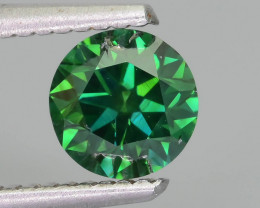 Green Diamond 1.05 ct Top Grade Brilliance SKU-25