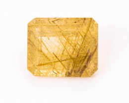 Rutilated Quartz 5.68 ct Brazil GPC Lab