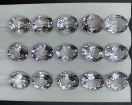 62.83 CT Amethyst Gemstones parcel