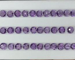 31.68 CT Amethyst Gemstones parcel