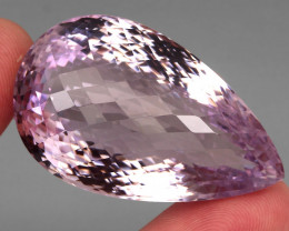 Rare Museum Size  181.26 ct Checker Board Cut Natural Top Pink Amethyst