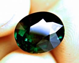 7.58 Ct. Elegant, Deep Green VS Tourmaline - Superb