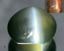 0.30 Cts Natural Alexandrite Cat's Eye Color Change Sri Lanka