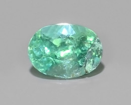 ~Natural Paraiba Copper Bearing Neon Green Tourmaline Gem~