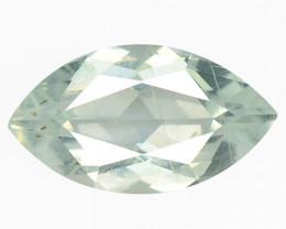 1.00 Cts Un Heated  Blue  Natural Aquamarine Loose Gemstone