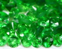 1.50Ct Calibrate 1.5mm Natural Green Color Tsavorite Garnet Lot AB953