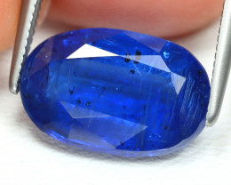 Kyanite 5.44Ct Oval Cut Natural Himalayan Royal Blue Kyanite B990