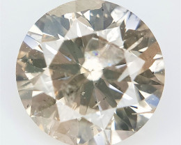 0.59 cts , Natural Brown Diamond , Diamond For Jewelry