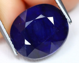Blue Sapphire 10.58Ct Oval Cut Royal Blue Color Sapphire B968